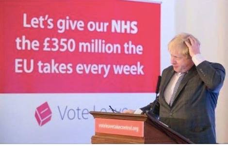 IDS tells #Marr the leave side never promised to give the NHS £350 million a week. A trip to the memory clinic? https://t.co/Mpn0cipXtb
