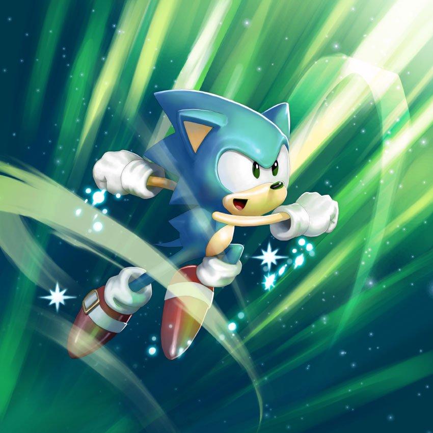Jeuxvideocom On Twitter Bon Anniversaire Sonic Un Peu En Retard