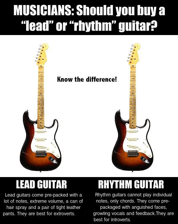 AmericanMusical On Twitter Rhythm Or Lead Know The Difference
