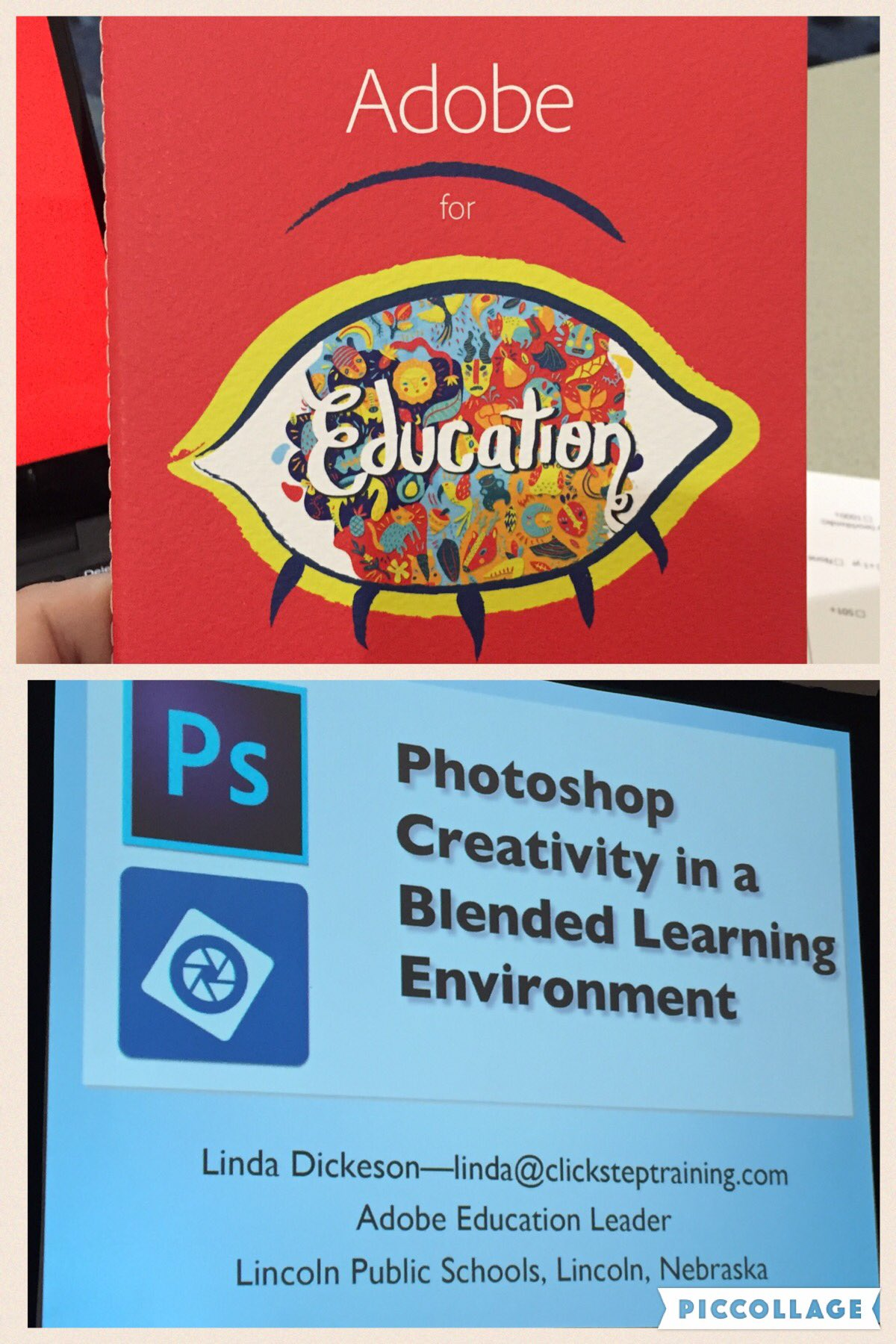 Super excited for my first #iste2016 workshop. @Photoshop #fcpsiste https://t.co/nDCY1rNitM