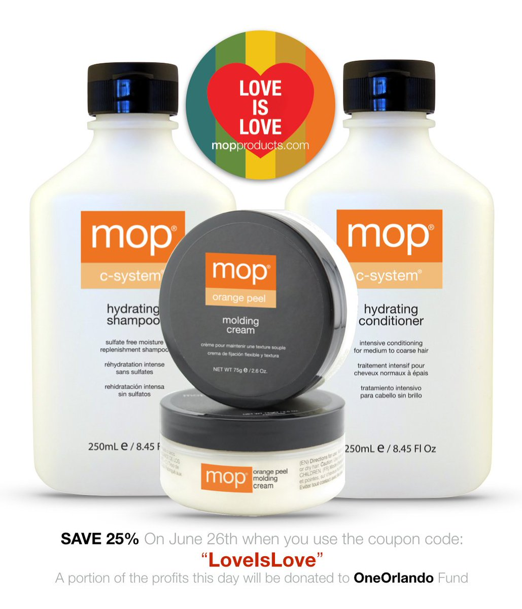 Mop Hair Products On Twitter Save 25 When You Use The Coupon Code Loveislove Remember To Showyourmop Pride Lgbtq Loveislove Hair