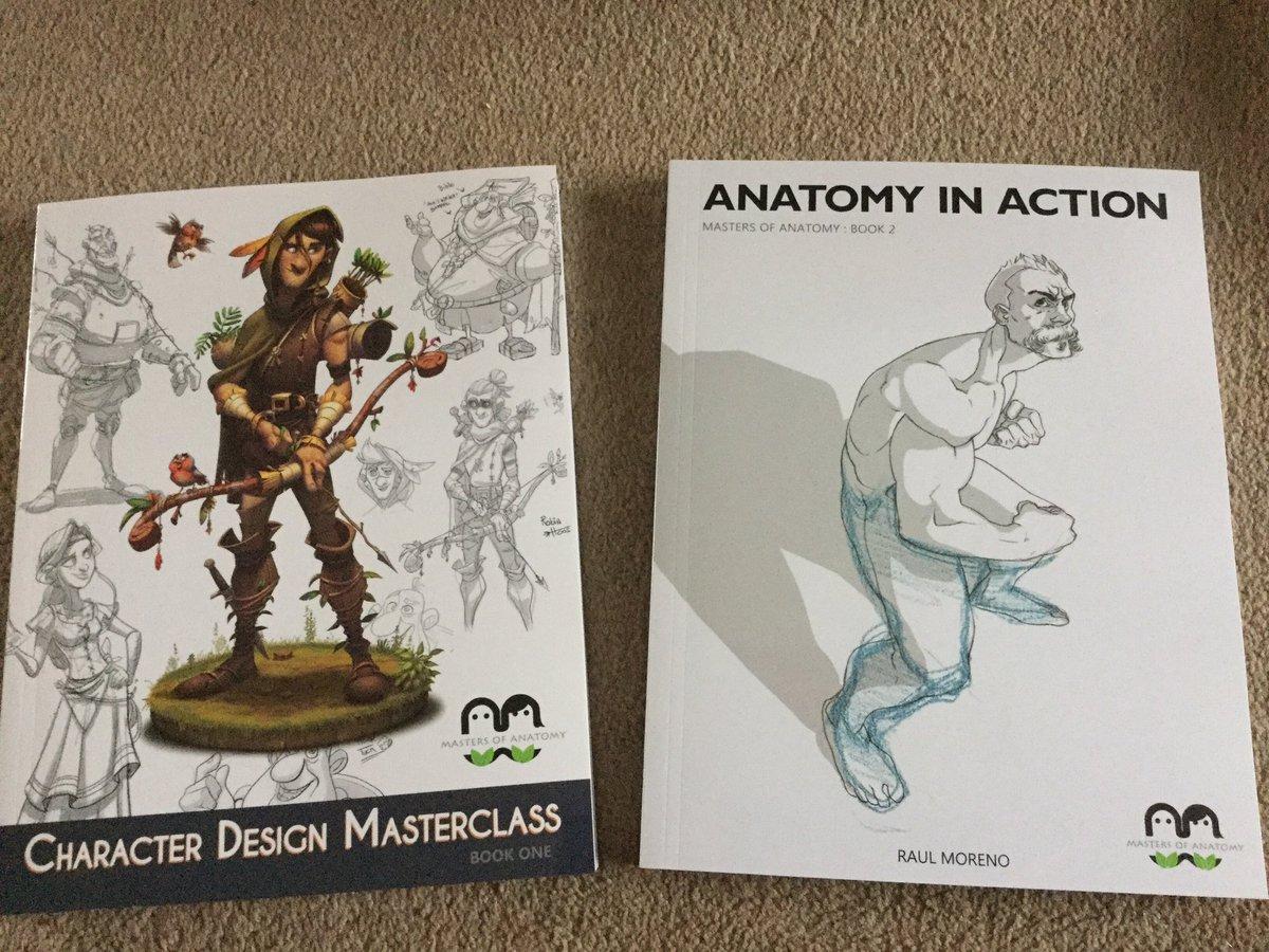 Character Design Masterclass Book : Masters of anatomy masteranatomy twitter