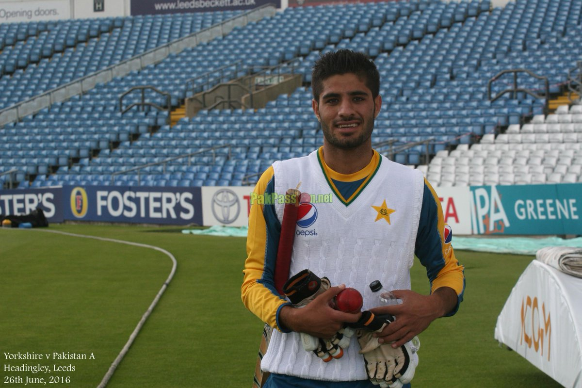 Mohammad Asghar called in as back-up for the injured Yasir Shah