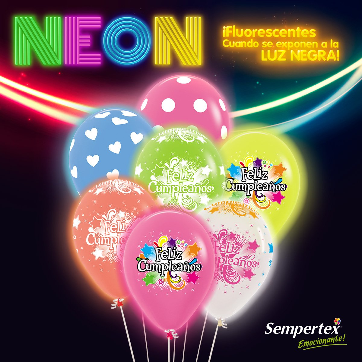 Sempertex Worldwide On Twitter Fiesta Neon Ofrecemos Multiples