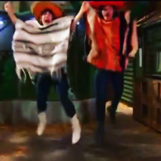 Remember everyone whatever happens it's impossible to be unhappy in a poncho  :) x https://t.co/rLahJjKleJ