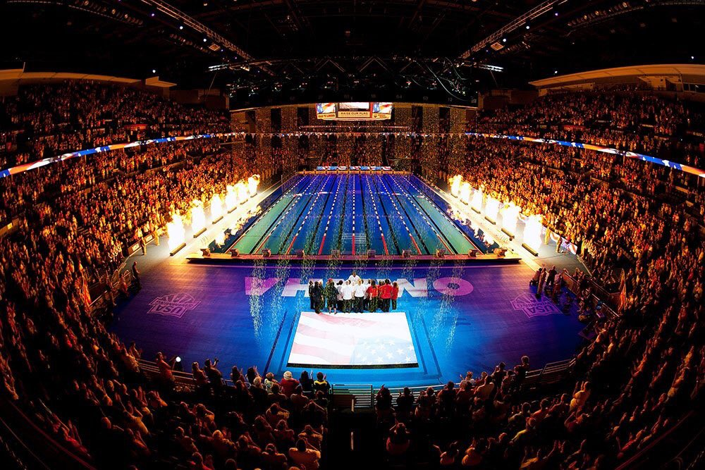 Omaha does an amazing job of putting on an Olympic Trials...photo cred @USASwimming https://t.co/plMv15M6op