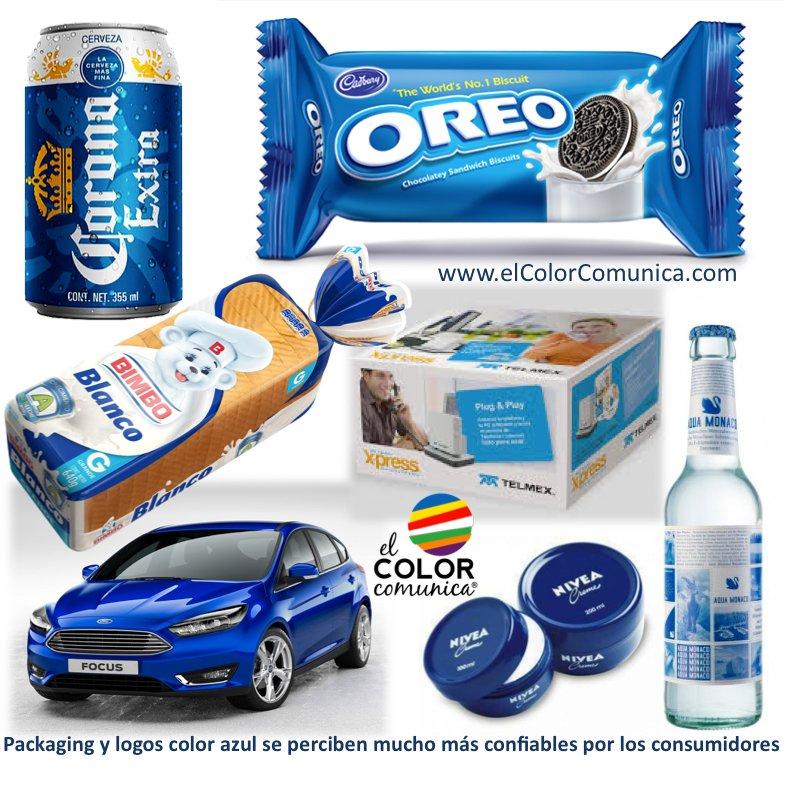 Packaging y logos color azul se perciben mucho más confiables por los consumidores #ConsejosParaComerciantes https://t.co/h71IW3b8eu