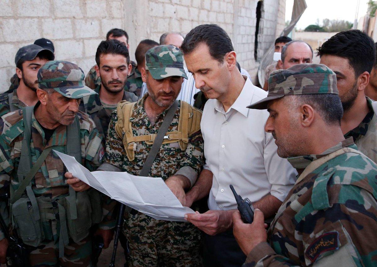 День Рождения Асада