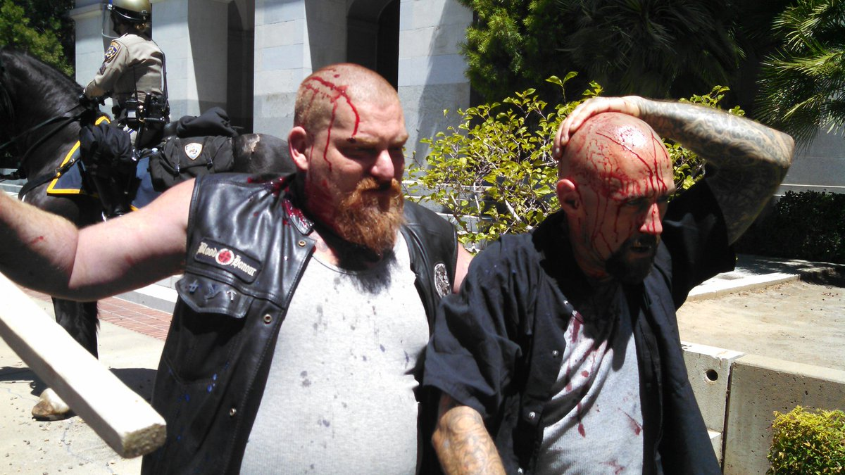 10 wounded in violence at California