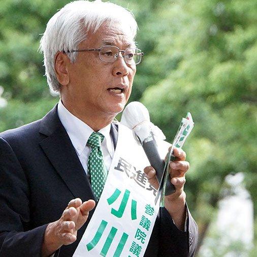 """小川敏夫 a Twitter: """"賃金を下げて成功だと言える経済政策なんてある ..."""