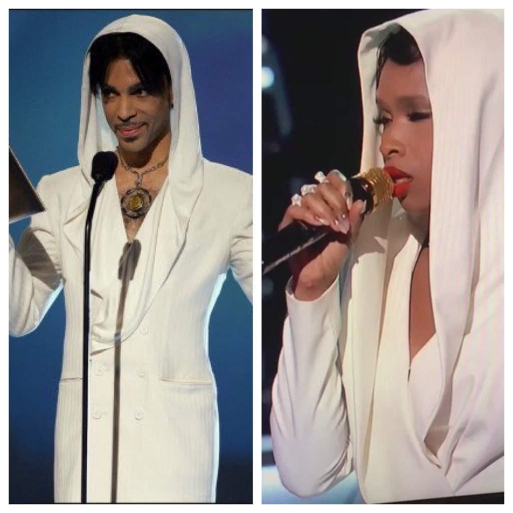 For those who didn't understand JHud's look for the tribute RT @Freshtine_: I love her for this. #BETAwards ☔️ https://t.co/PG0SARtpAZ