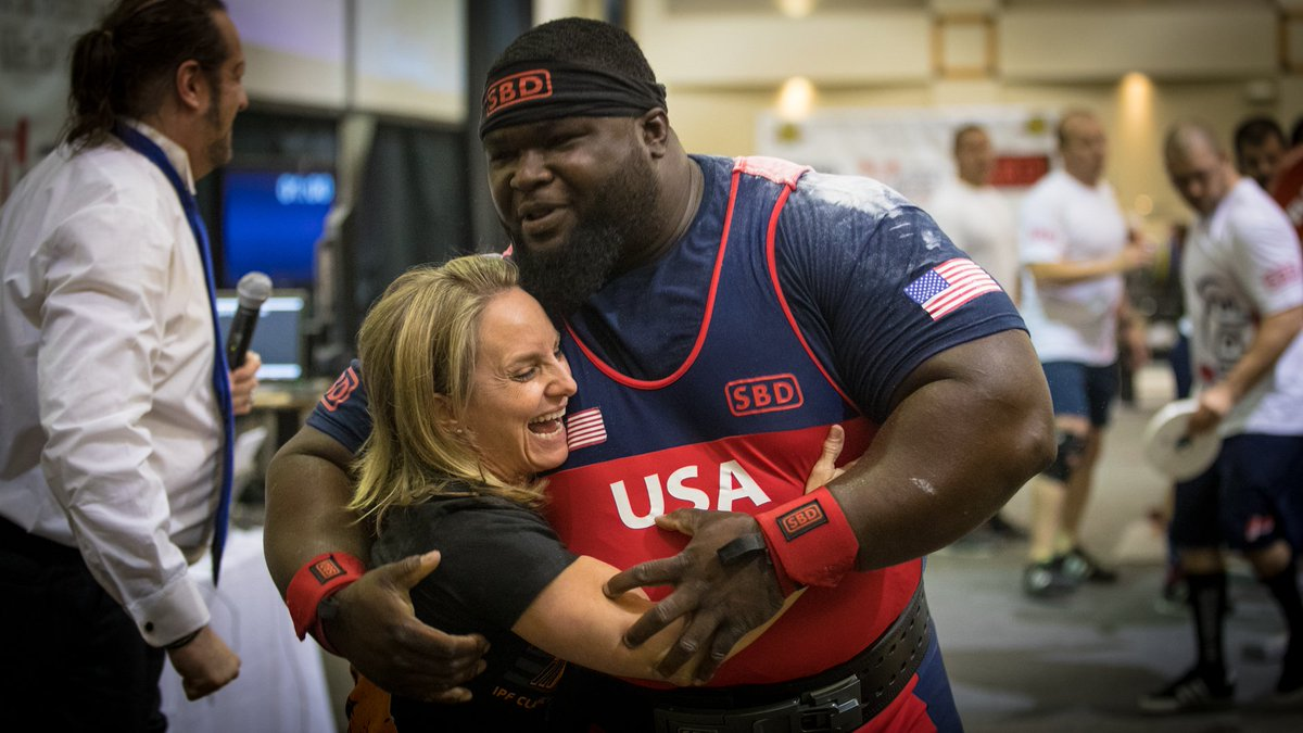 """SBD on Twitter """" USA s Ray Williams secures the IPF tweet World"""
