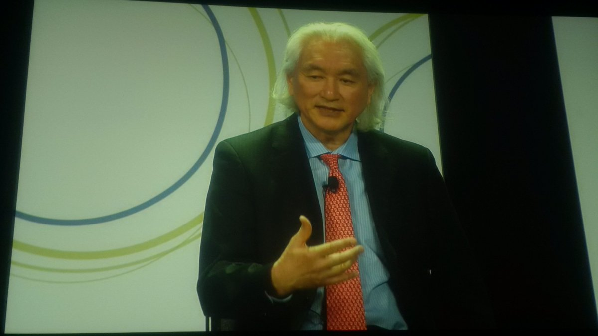 How do you get a kid interested in science? @michiokaku says find them a role model at #iste2016 https://t.co/wGllwlVTi2