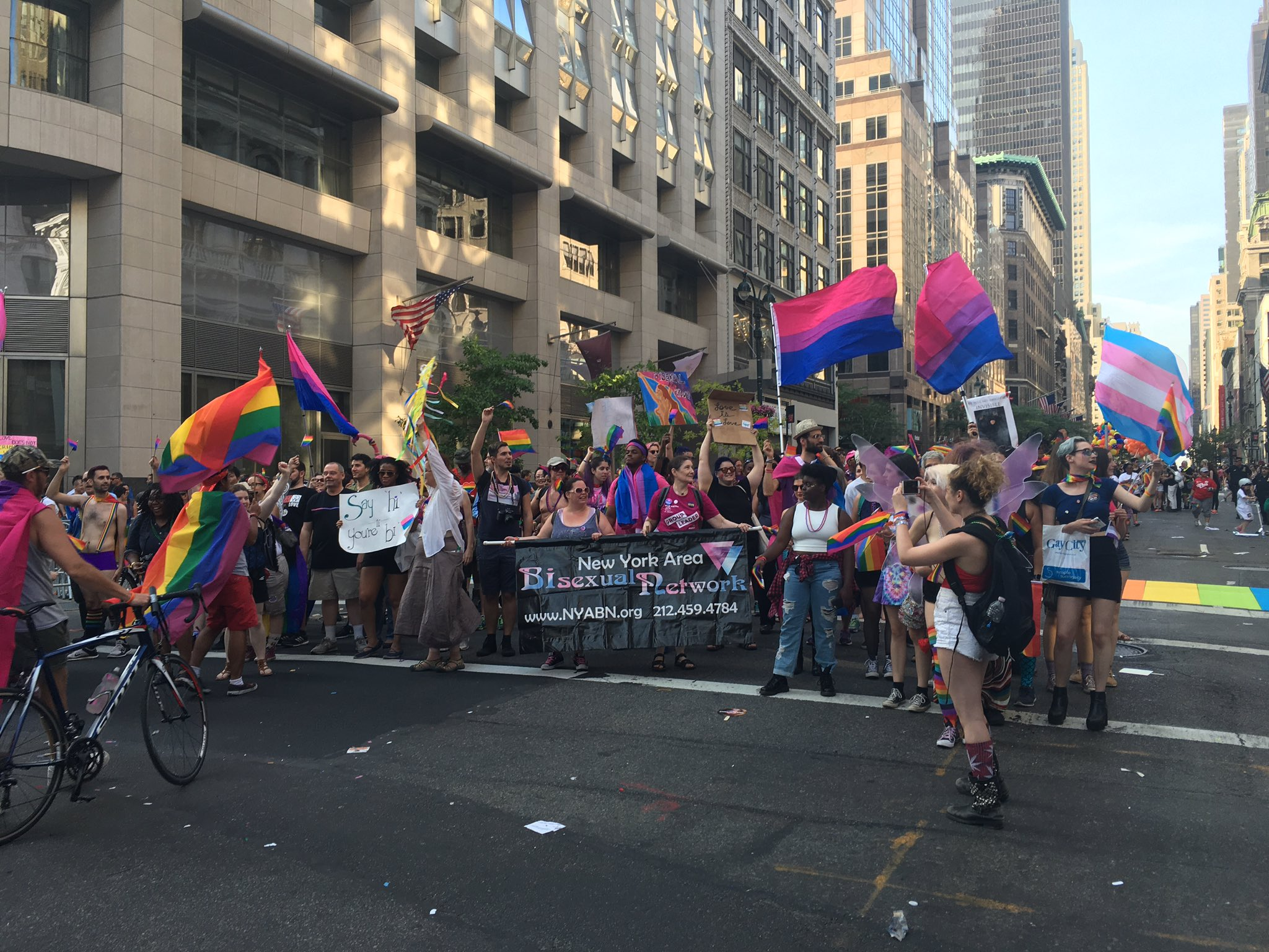 Brilliant new york area bisexual network speaking