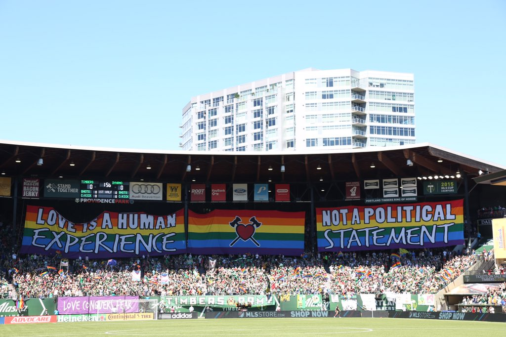 Love is a human experience, not a political statement. (Photo by @Rayterrill) #RCTID https://t.co/tkmXkSvGy2
