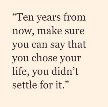 Positive Quotes On Twitter Ten Years From Now Make Sure You Can