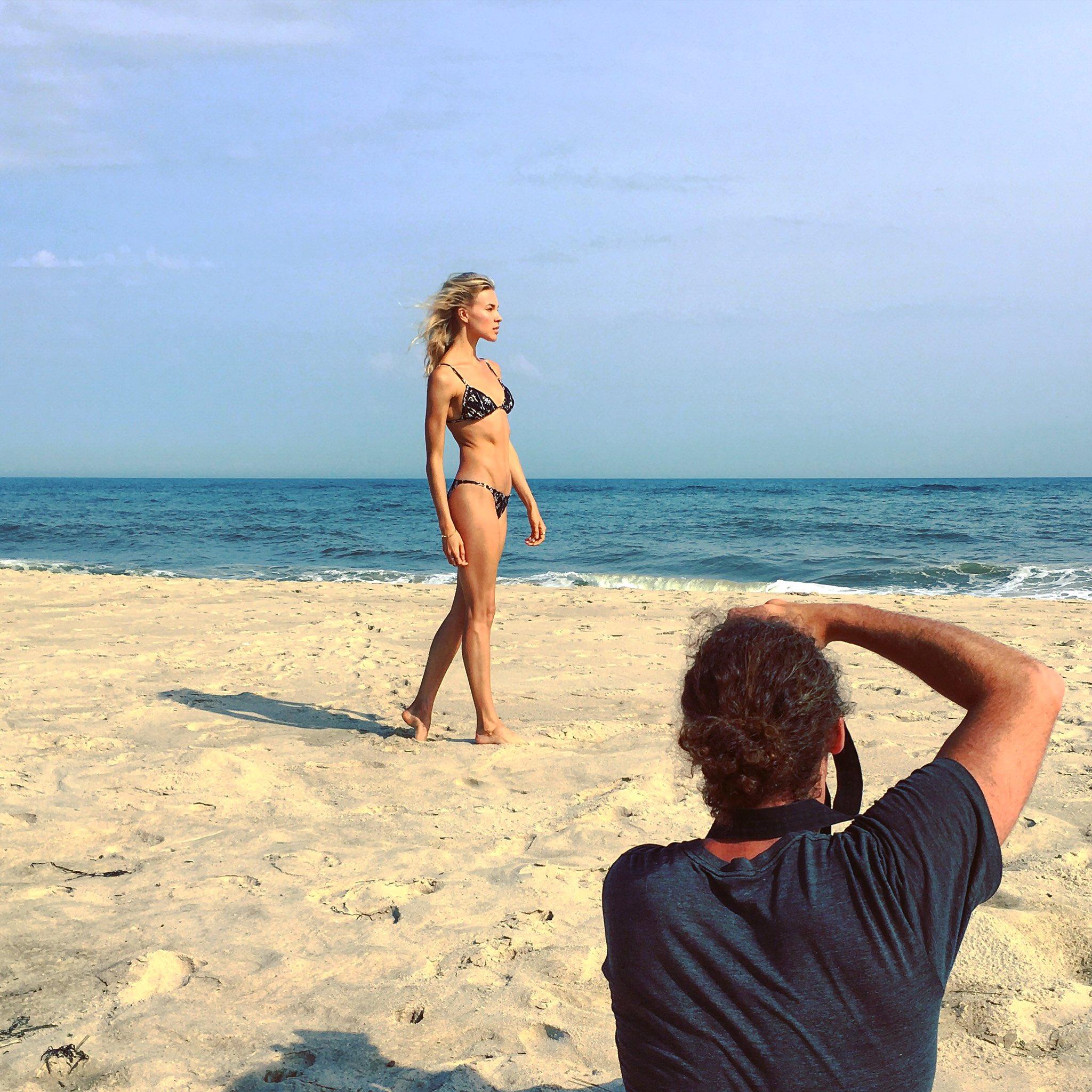 #bts from last week's #beach shoot 🏖 https://t.co/Vd6kWBXSaB