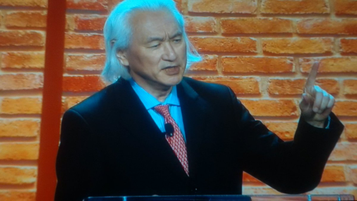 The Internet has become our brain and memories. A concept from @michiokaku at #ISTE2016 https://t.co/4YoW39Djvh