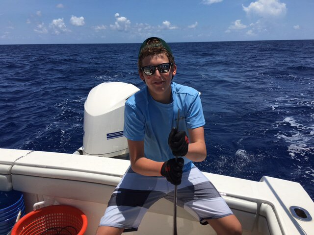 Marathon, FL- T/T Double Barrel, Justin Rothberg went 1-2 on Swordfish.