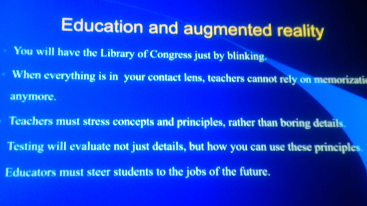 Wondering how to prep #students for their future? Read this that @michiokaku shares at #ISTE2016 https://t.co/D2la3ByevW
