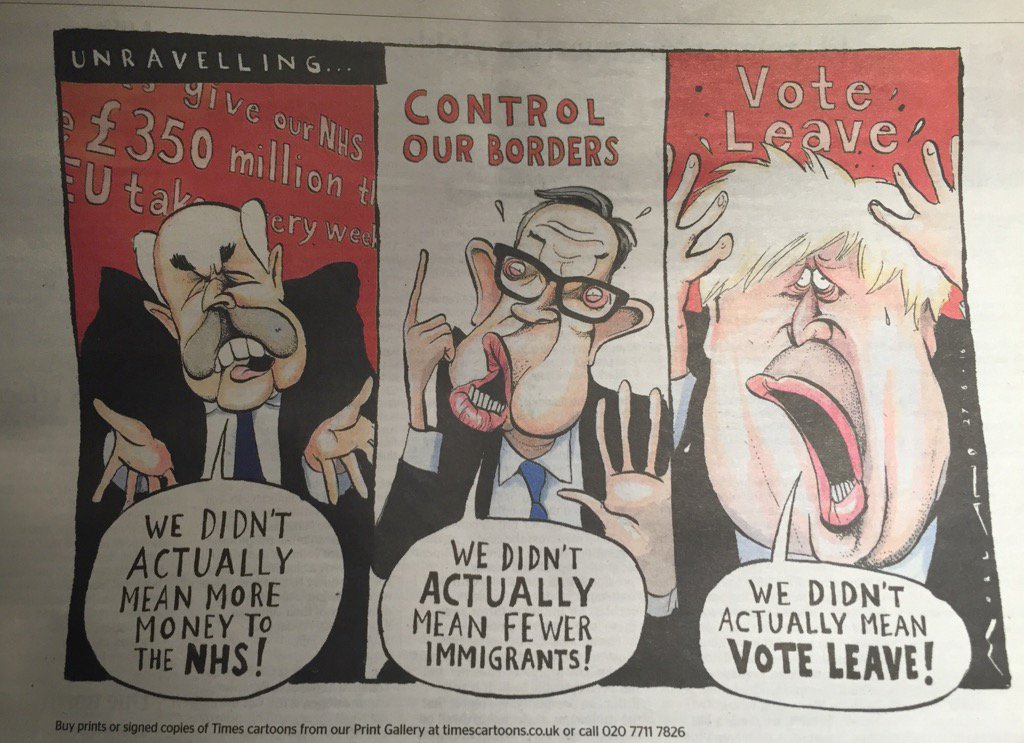 Cartoon in the Times saves time on reading the rest of the news. https://t.co/MY0vyMSyCP