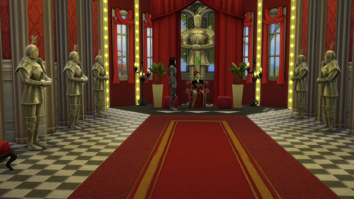 anchesenamon sims on twitter red queens castle at the sims 4 gallery id anchesenamon thesims4 timburton aliceinwonderland