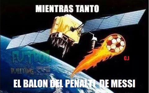 Vignette divertenti Argentina-Cile: Leo Messi piange, la maledizione continua