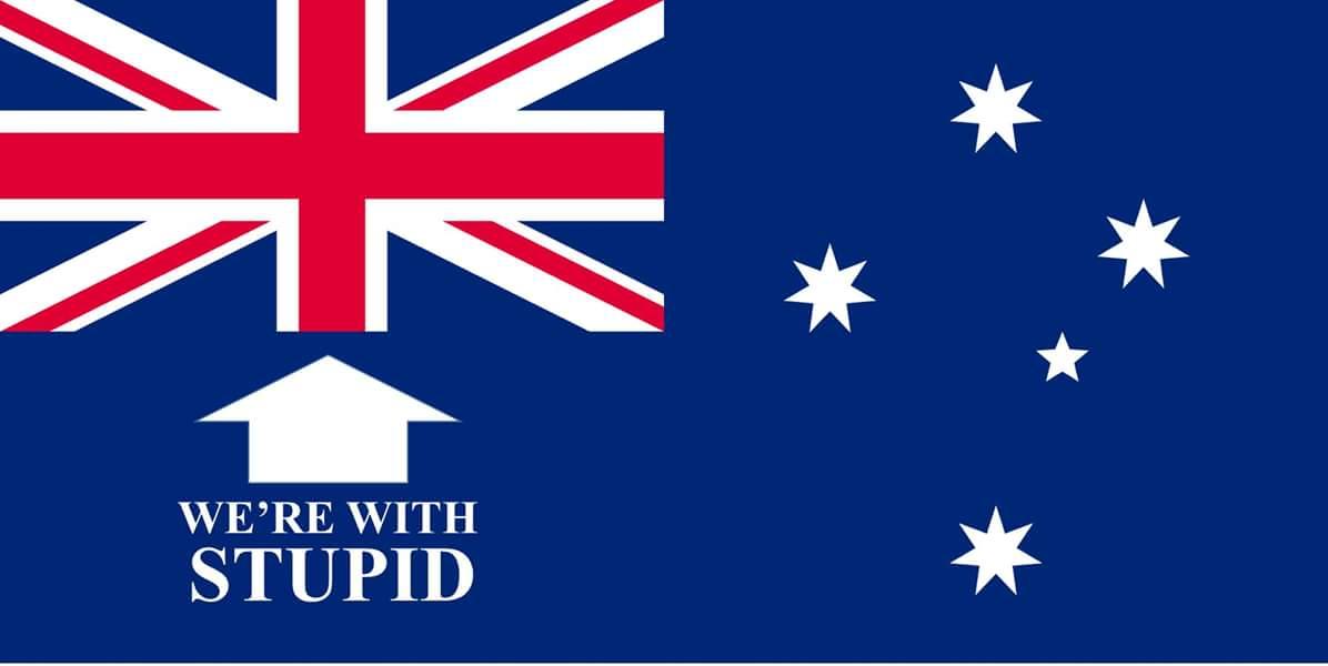 Australia has a new flag, post Brexit... https://t.co/3QIzCnFZSY