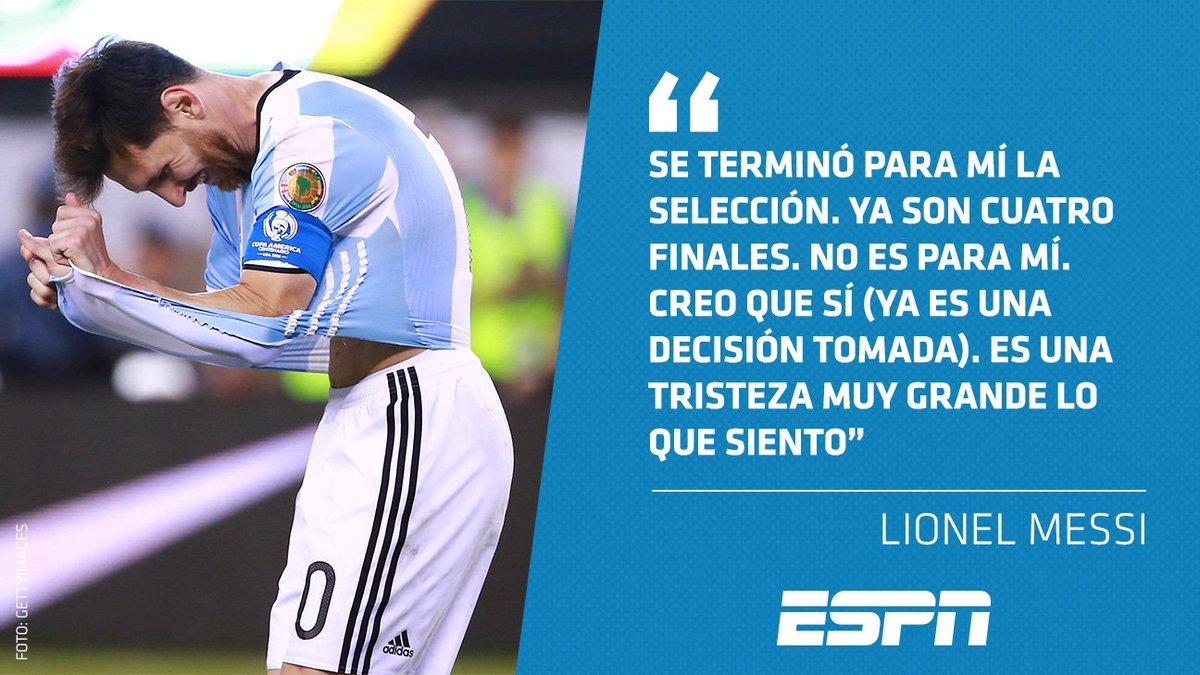 Futbol Picante On Twitter El Retiro De Messi En Cuatro