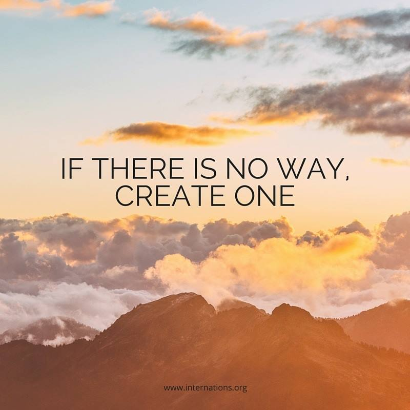 Get out there and make your own way today! #MotivationMonday https://t.co/twREEbh6KD