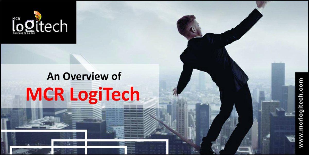 An Overview of MCR LogiTech:: @  http://www. mcrlogitech.com / &nbsp;   #MCRLogitech #digitalmarketingagency #itcompany<br>http://pic.twitter.com/Fvl6XLziqt