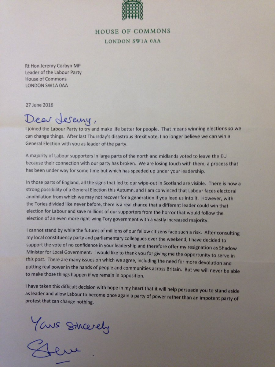 Steve reed on twitter i have resigned as shadow minister for local steve reed on twitter i have resigned as shadow minister for local government here is my letter of resignation spiritdancerdesigns Gallery
