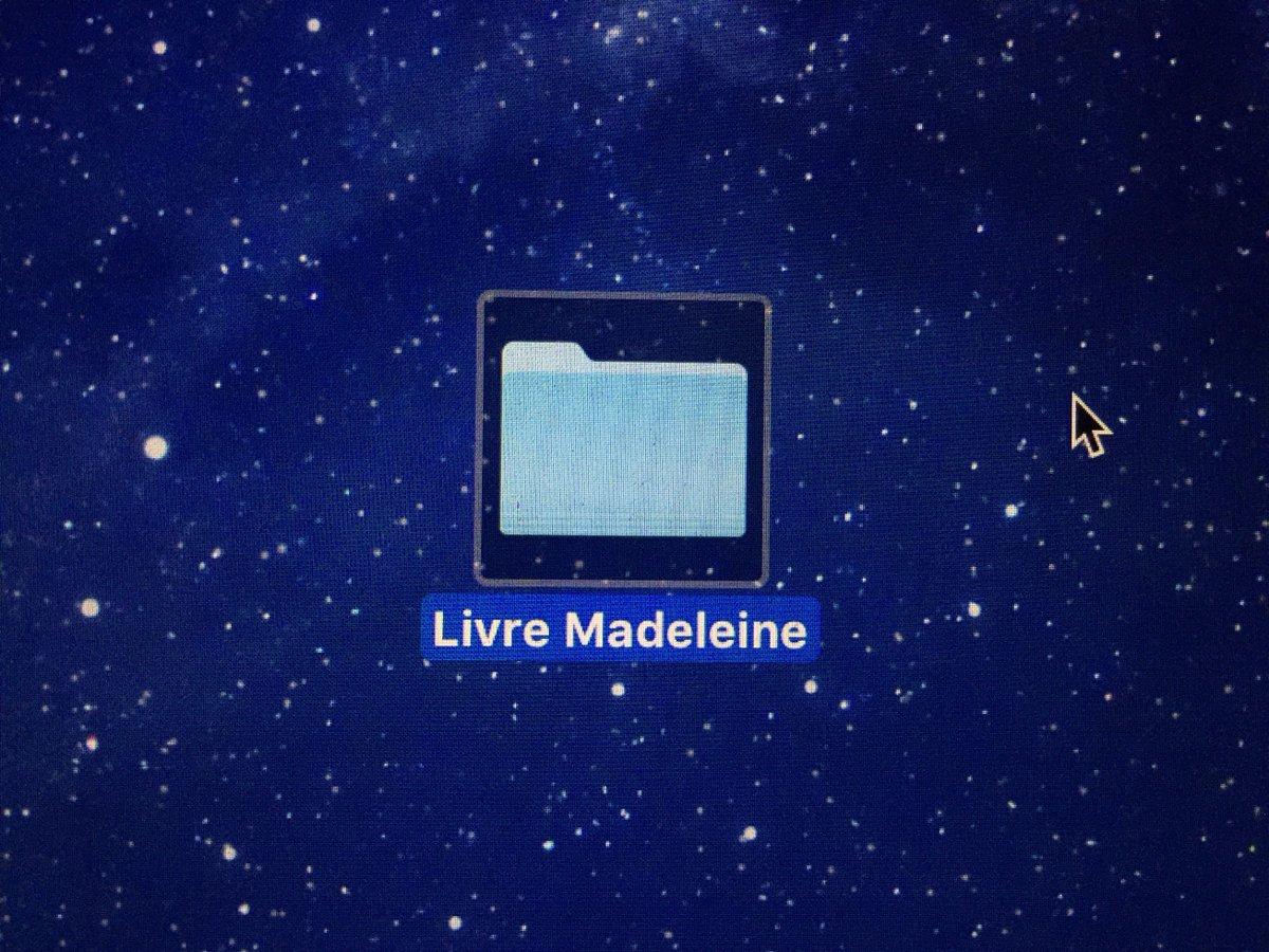 """Un autre jour de février où je crée un dossier """"Livre Madeleine"""" parce que tout me déborde #Madeleineproject https://t.co/9Ov4hzZnS9"""