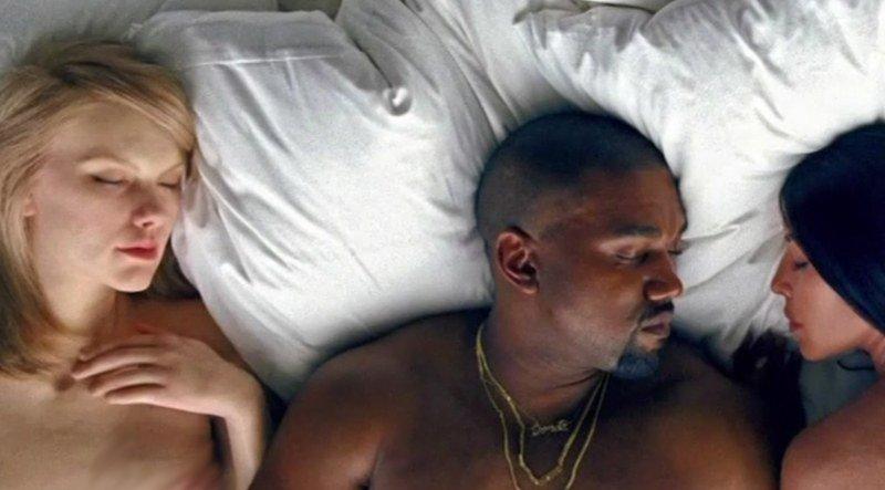 Famous Kanye West Taylor Swift Polémica Del Vídeo Famous Kanye