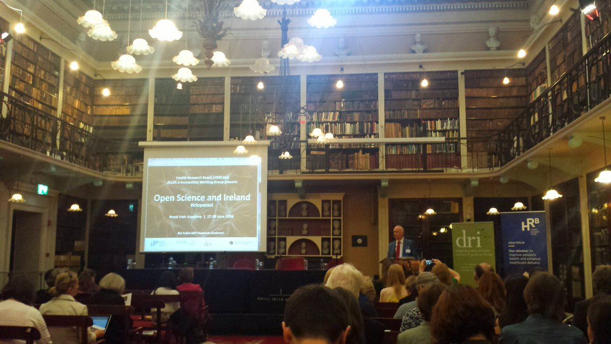 Open Science and Ireland event started in beautiful @RIAdawson setting #irlopensci https://t.co/x4wDihM647