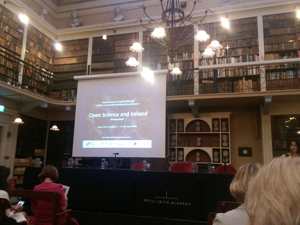 #irlopensci @hrbireland @RIAdawson why open science is relevant for Ireland and Europe. #fairdata #opendata https://t.co/KCZRTf0F0p