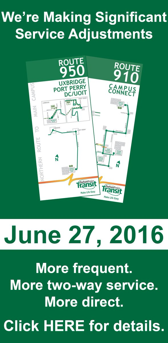 Beginning today, routes and schedules are changing. Check your schedule and Route Map - https://t.co/V8sqn3MmF1 https://t.co/BQxLRg6dbz