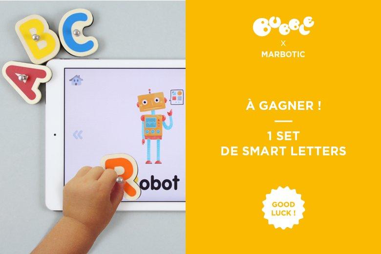 L'appli Smart Letters de @marbotic la preuve que les jeux éducatifs ça peut être connectés! https://t.co/tlgOTvD95C https://t.co/xzhbaLk3mF