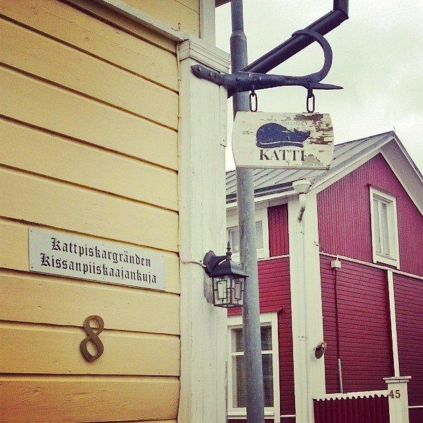 In #kristinestad Oder auch #Kristiinankaupunki gibt's es doch die ein oder andere Kuriosit… http://ift.tt/291Jb3Opic.twitter.com/lNxDxlIU39  by finnweh!