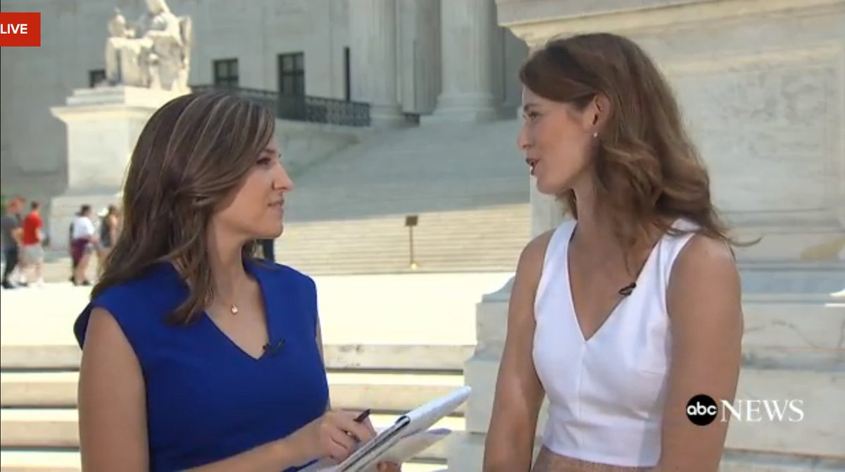 Kate Shaw Kate Shaw Marykbruce Live Scotus Breaking Major Decisions Abc News Politics Scoopnest