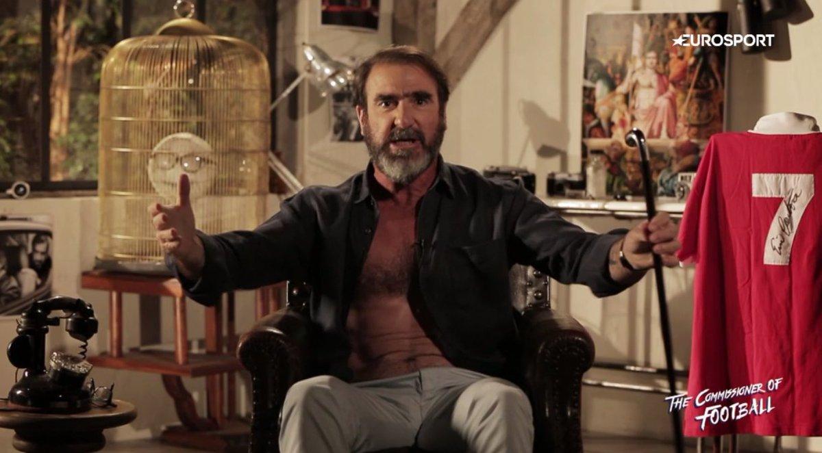 Eurosports Commissioner Of Football Eric Cantona Takes Uefa