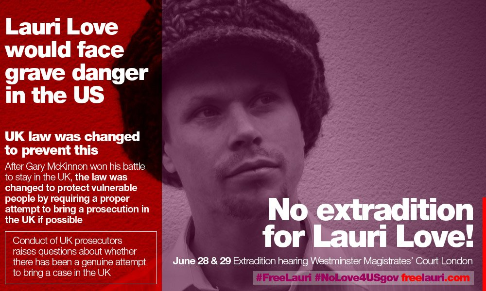 Checkout this timeline to make sense of Lauri Love's fight against US extradition https://t.co/Qr7D3j2Vca #FreeLauri https://t.co/YBmkFMYxJd