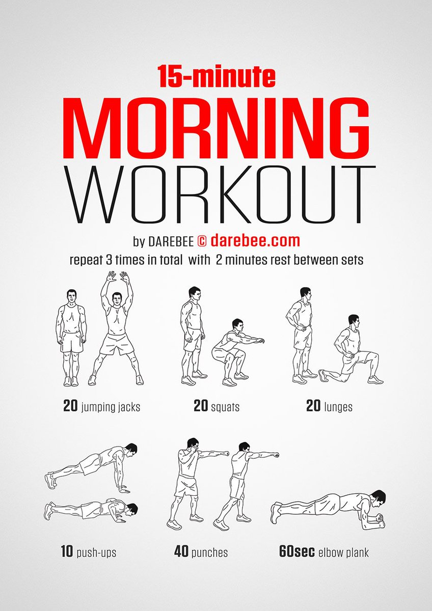 "DAREBEE on Twitter: ""NEW: Morning Workout https://t.co ..."