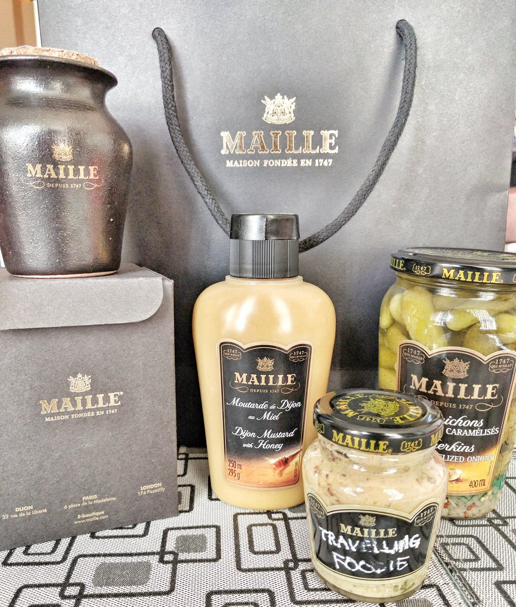 Travelling Foodie: Media Package from Maille Canada