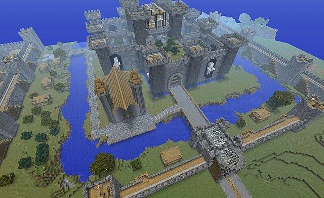 сид в майнкрафте на замок #7