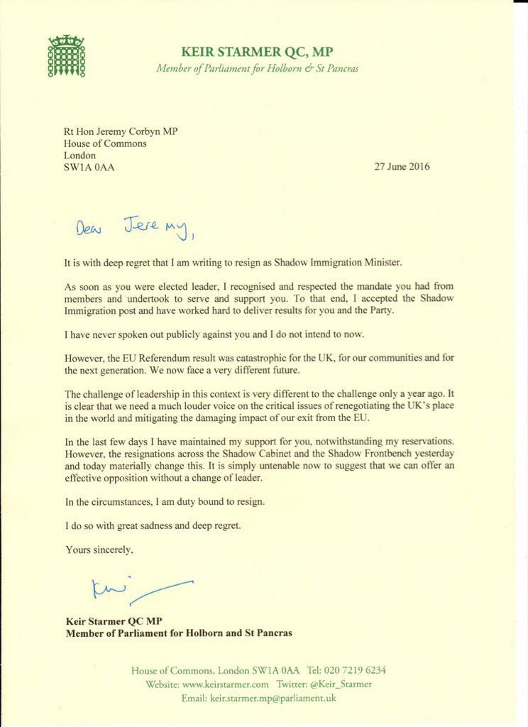 Keir starmer on twitter with sadness regret i have resigned as never miss a moment spiritdancerdesigns Image collections