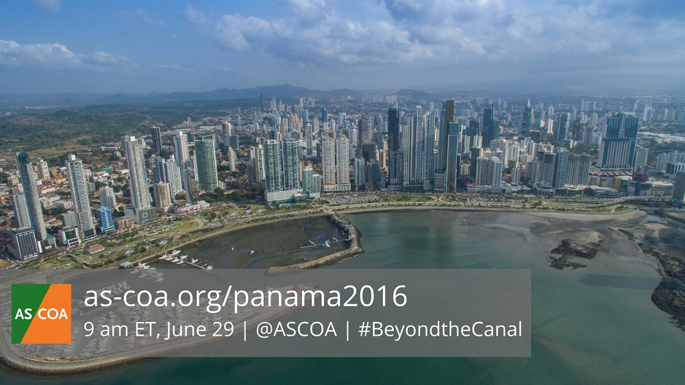 We'll be live from Panama City this Wednesday! Join us for #BeyondtheCanal: https://t.co/DWoT4rG8LX #PanamaCanal https://t.co/oL6XuVORgi