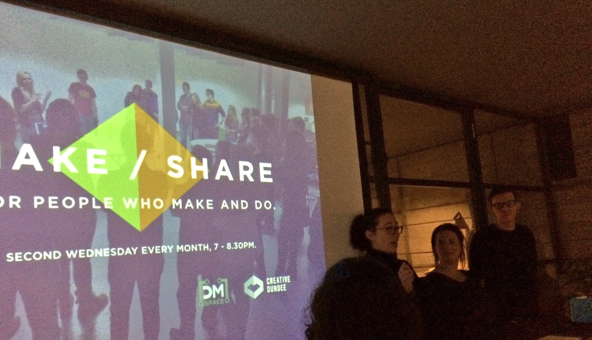 A fascinating and diverse #makeshare event. As usual. https://t.co/U04oCJvDiQ