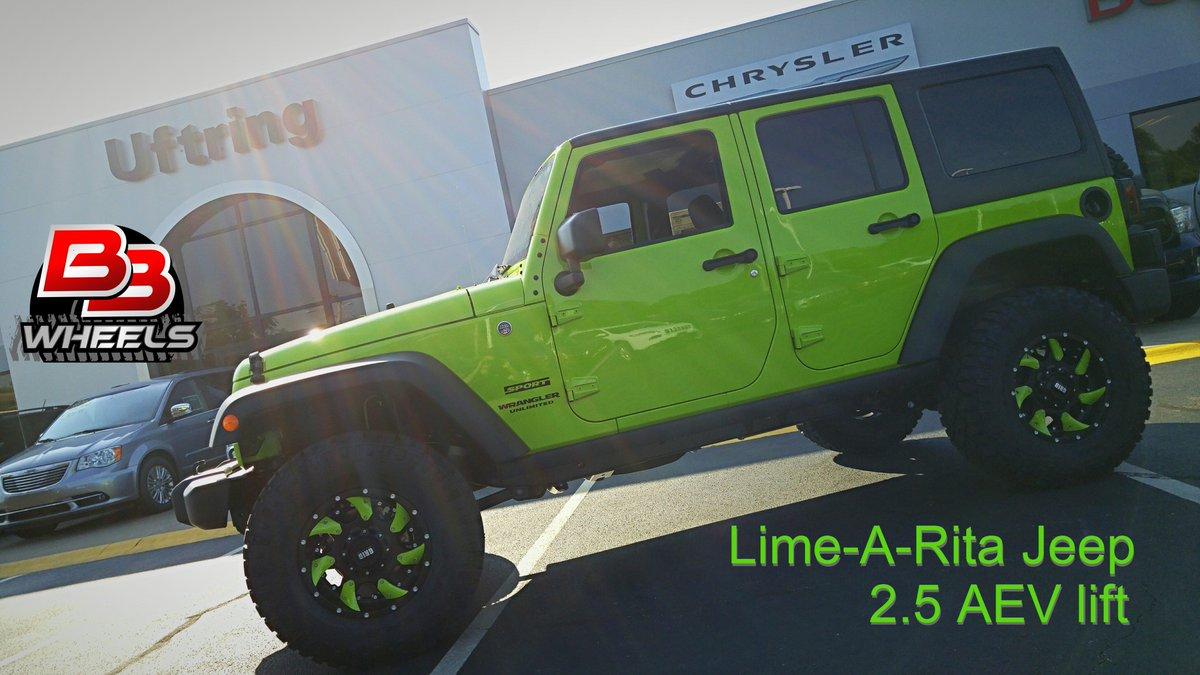 "bb wheels on twitter: ""17x9 #grid #gd1 wheels on a #jeep #wrangler"