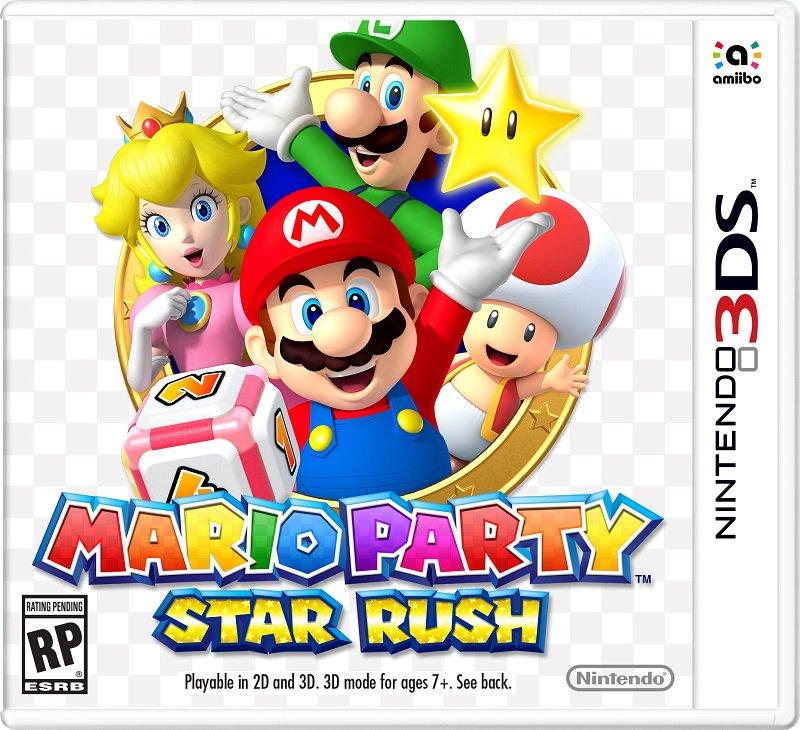 Resultado de imagen de Mario Party Star Rush 3Ds